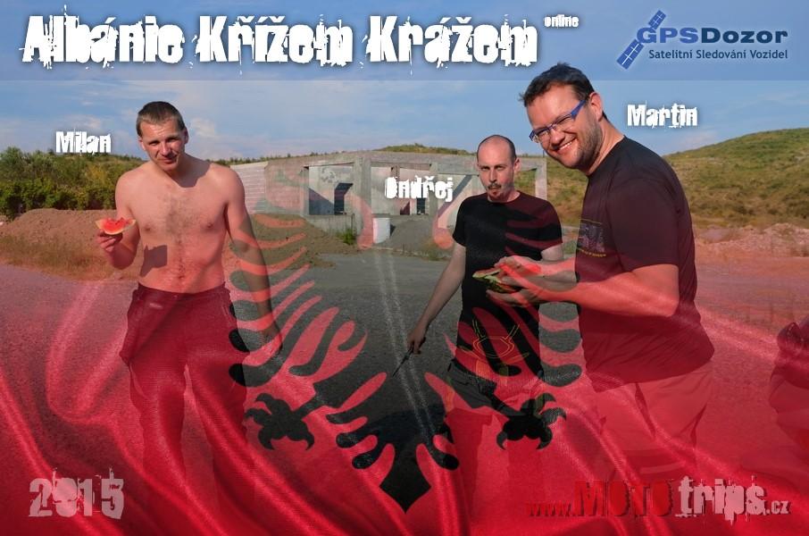 MOTOtrips - Albánie křížem krážem za 17 dní