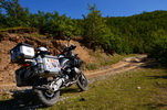 Martin - BMW R 1200 GS Adventure - Albánie 2015