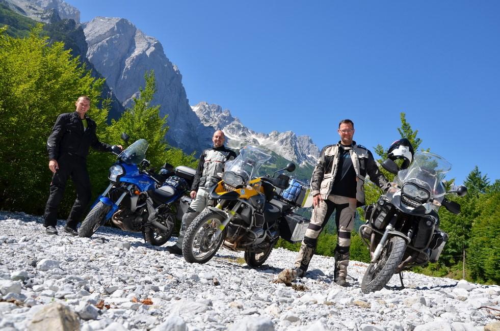 MOTOtrips - Albánie křížem krážem