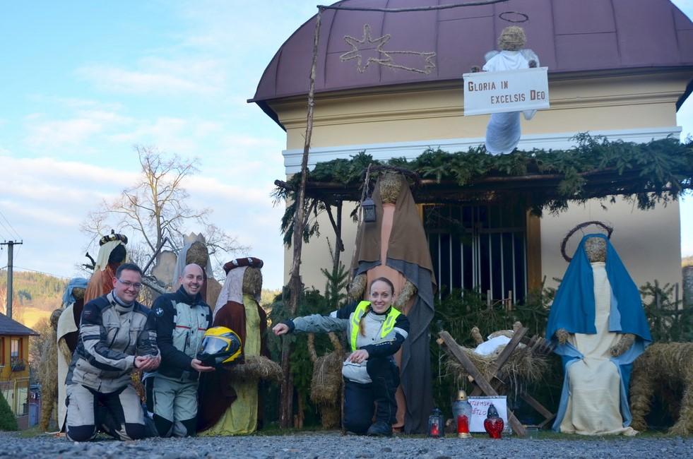 Vánoční vyjížďka k Betlému v Čenkově