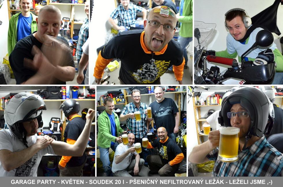 MOTOtrips - Garage Party - Květen